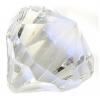 Acrylic Drop 25x30mm Crystal Birthstone (April)